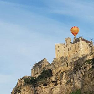 Dormir en Périgord avec vol mongolfiere